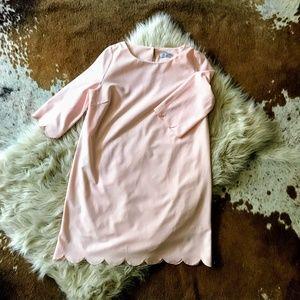 NWT Tobi Pink Scallop Dress - Size Medium